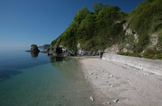 Charlestown Beach Cornwall